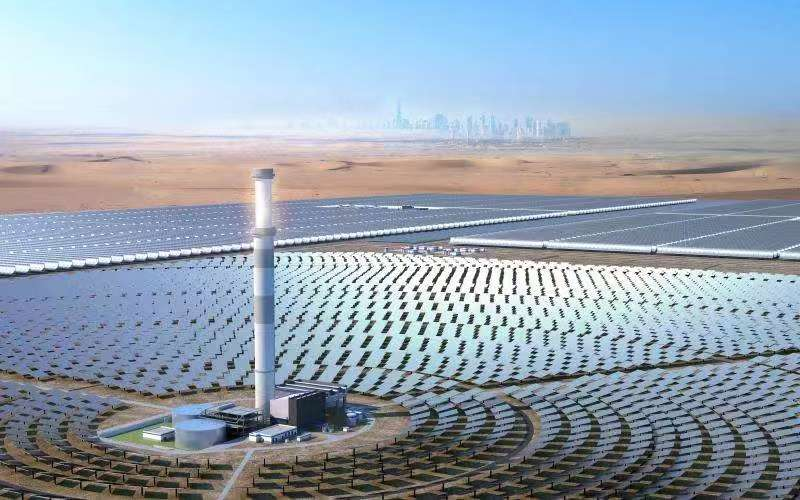 World's tallest solar tower to be fitted with a CMI receiver