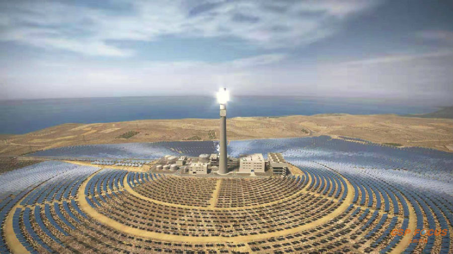 Greece MINOS 50MW CSP project
