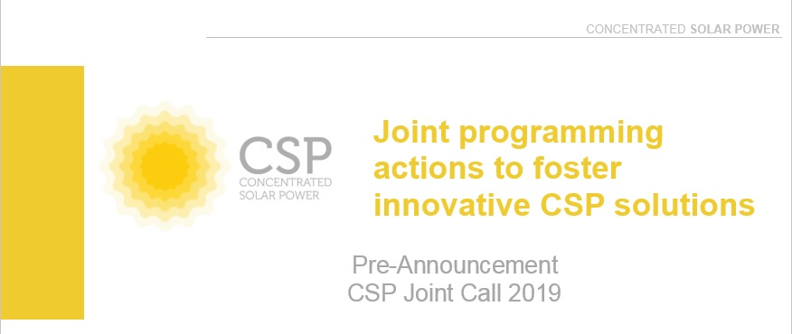 Pre-announcement CSP Call